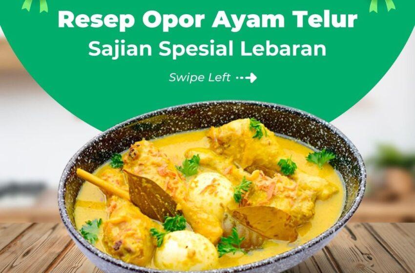 Resep Opor Ayam Telur
